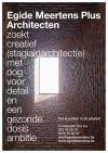 Vacature (stagiair) architect(e)